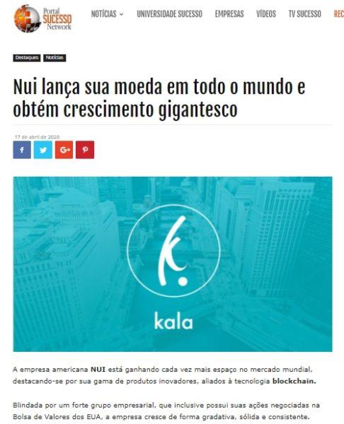 noticia nui sucesso network